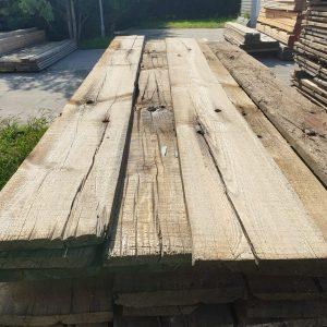 Industrieel grenen plank