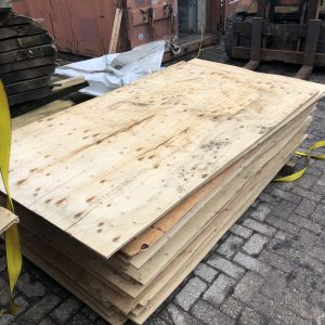 ply wood platen