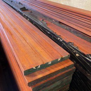 Padouk planken